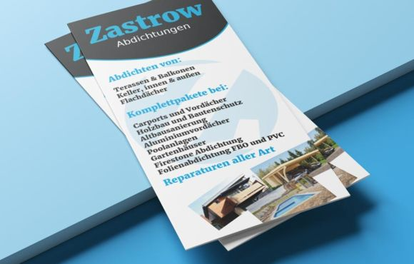 Flyerdesign Zastrow