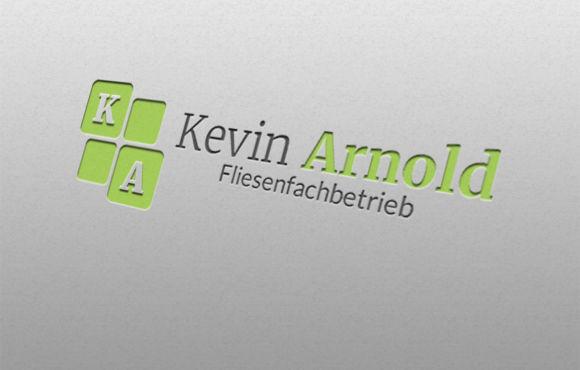 Logodesign Kevin Arnold Fliesenfachbetrieb