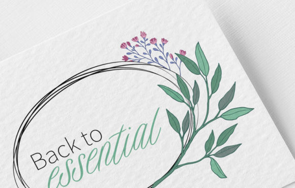 Logodesign Back to Essential